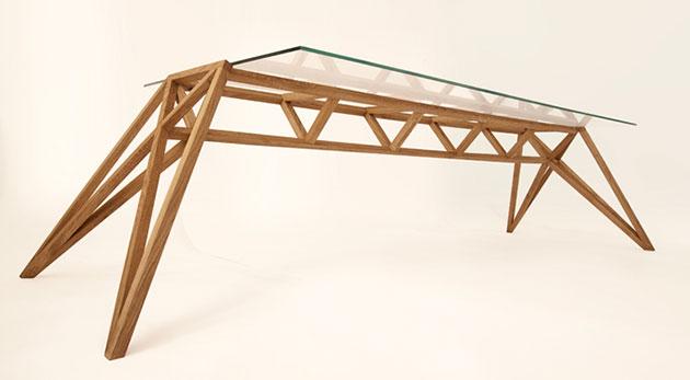 Ponteガラステーブル