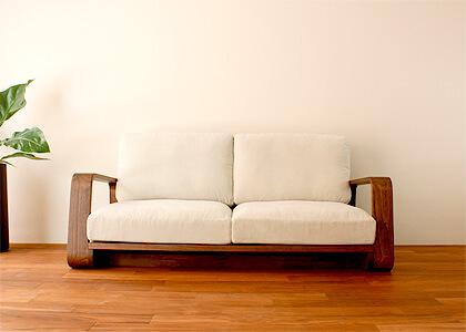 ハイバックモデルのソファ