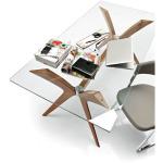 カリガリス トーキョー ガラストップ ダイニングテーブル