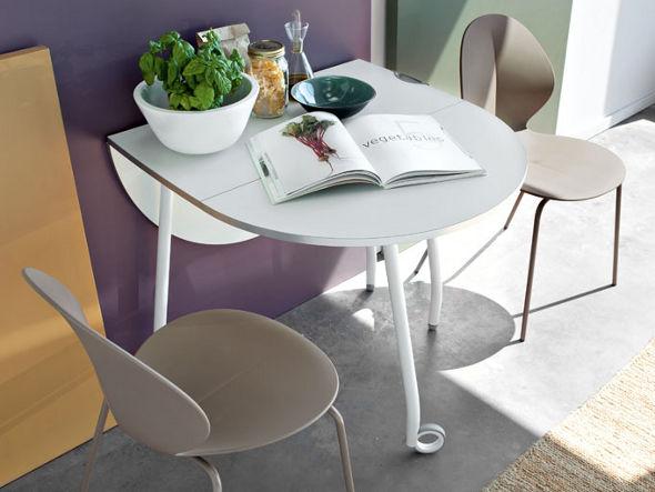 Calligaris ブリッツ オーバル型フォールディングテーブル