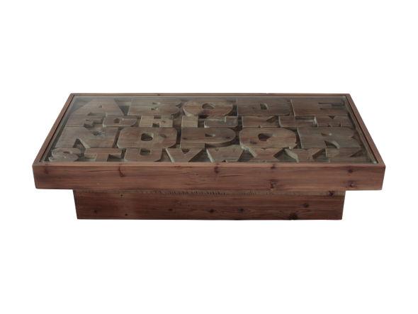 Knot antiques ABC CENTER TABLE
