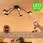 リモコンシーリングライト 5灯 タランチュラ/Taramtula