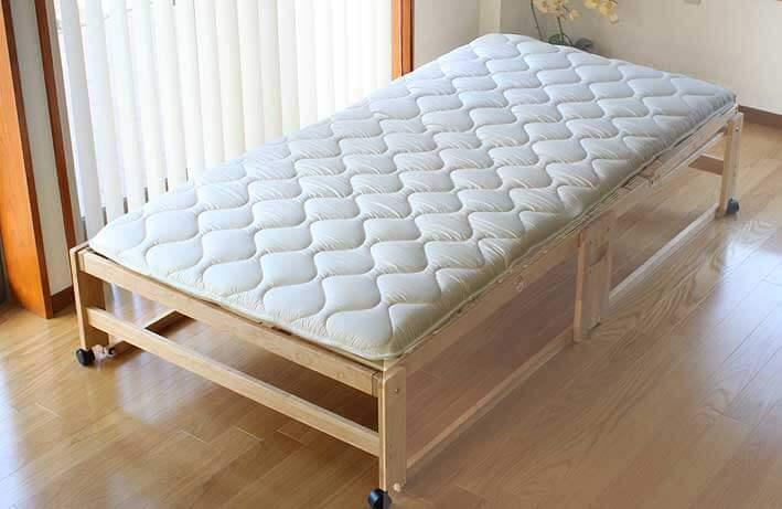 折りたたみベッド専用敷き布団シングル