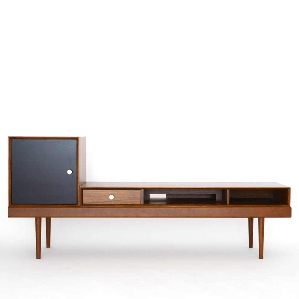 826STANDARD UNIT168cm テレビボード(テレビ台)Cセット ウッドレッグ