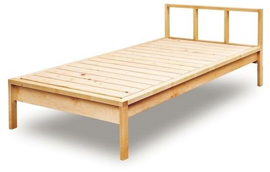 木と風 シングルベッド メープル