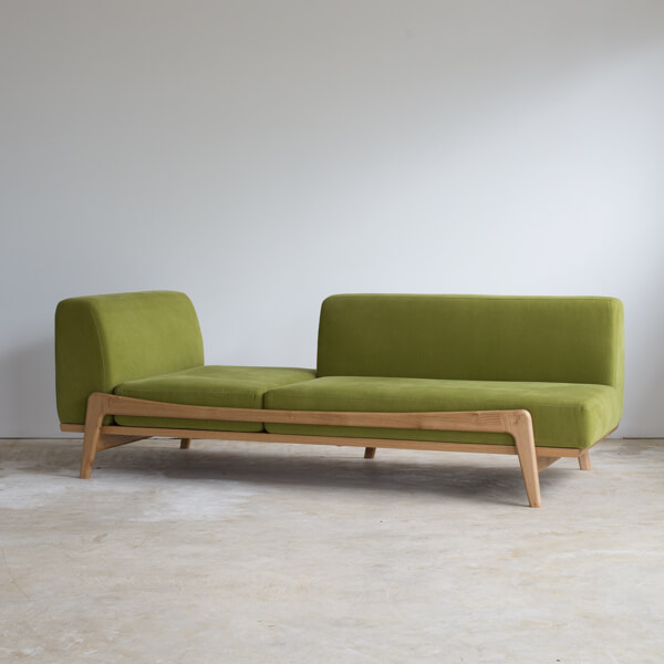 Luu Sofa white OAK