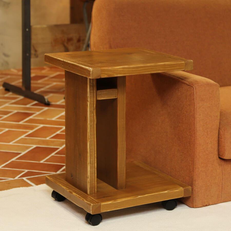 OLD ASHIBA(足場板古材)ソファ用サイドテーブル