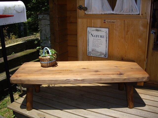 一枚板 ローテーブル