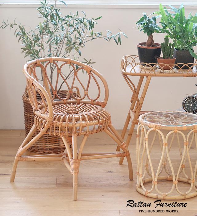 JUGLASユグラパーソナルチェア(ラタン家具)