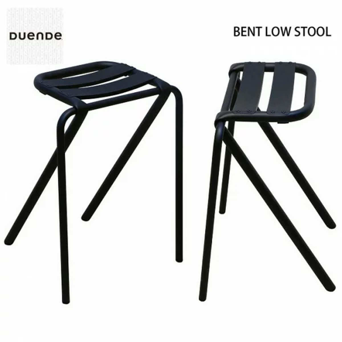 DUENDE BENT LOW STOOL