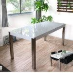 モダンダイニングテーブル 160 ホワイト