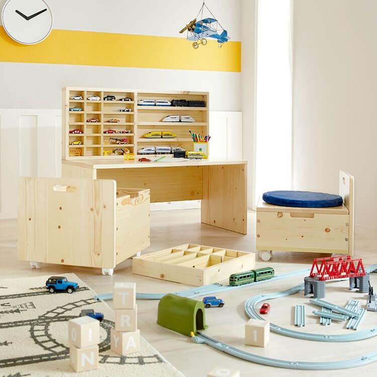 おもちゃ収納 プレイテーブル