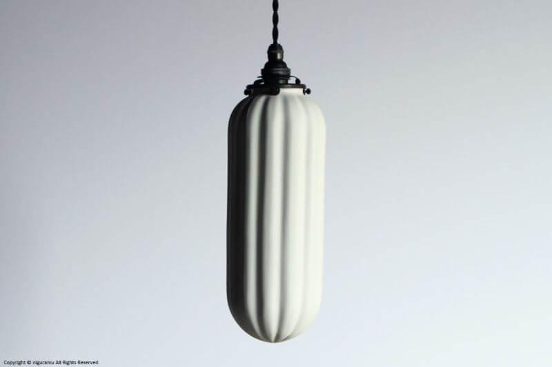 ランプシェード Slim L, drape