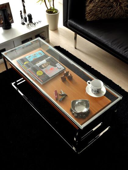 ガラスネストテーブル yunica