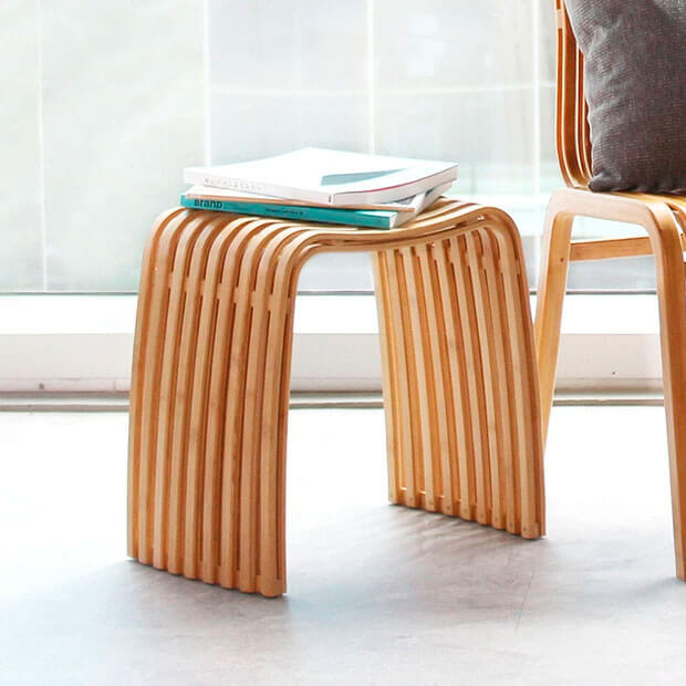 Colin-Bamboo stool