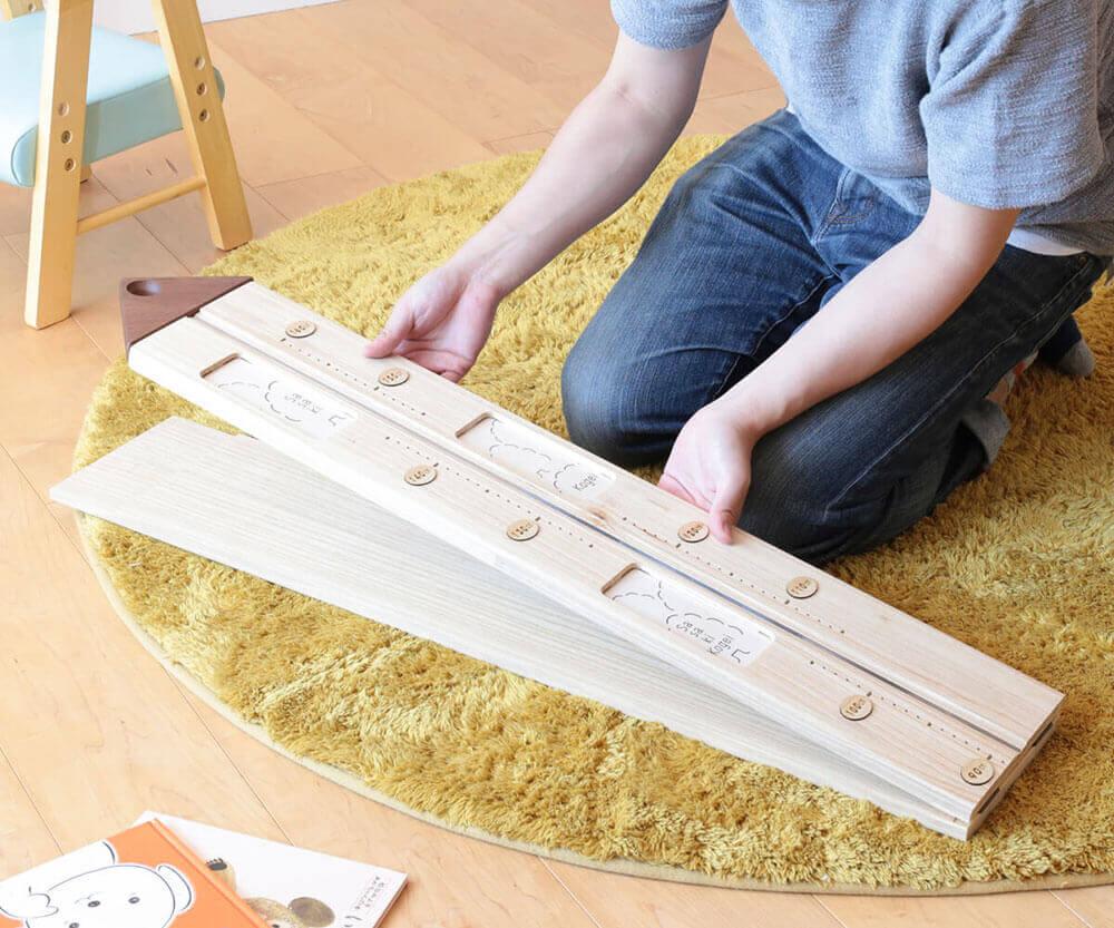 ササキ工芸 のびのび身長計