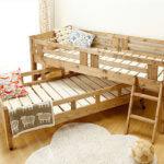 子供に優しい親子ベッド