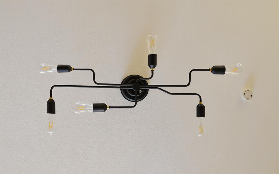 シーリングライト ゲノン6灯