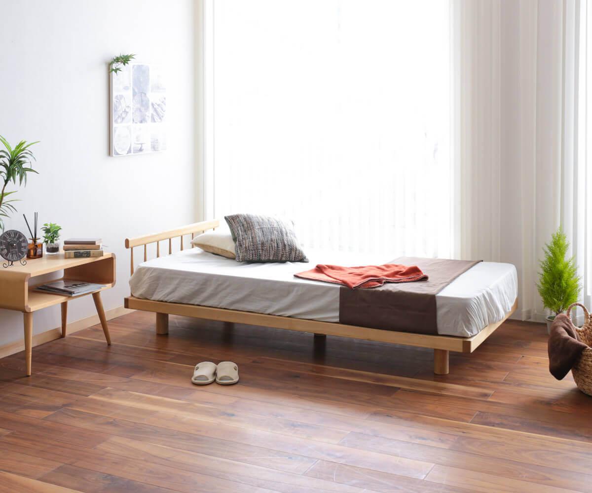 旭川家具 木と暮らしの工房 ベッド