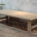 OLD ASHIBA(足場板古材)Hシリーズ ローテーブル