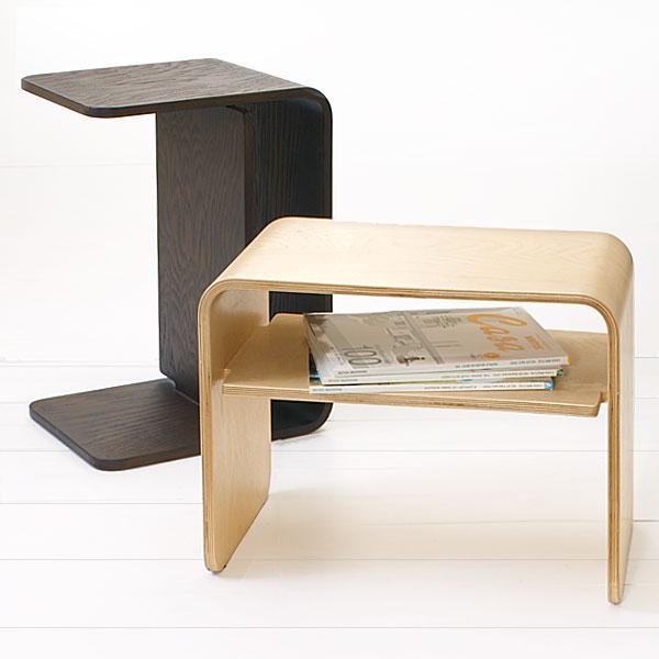 KEYUCA(ケユカ) クラスタ 角 サイドテーブル