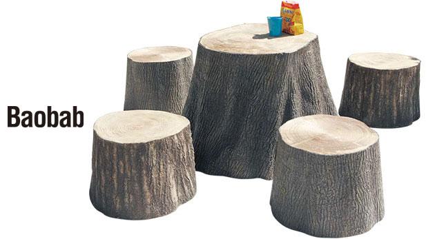 切り株テーブル