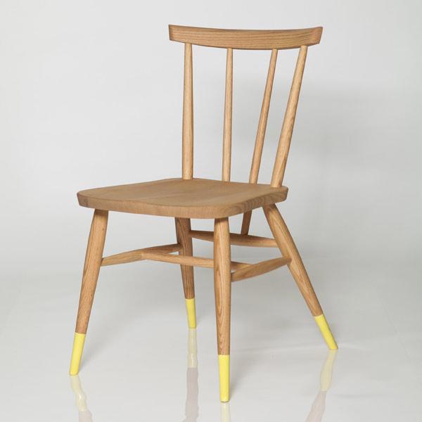 Color socks カラーソックス/Stick Back Chair