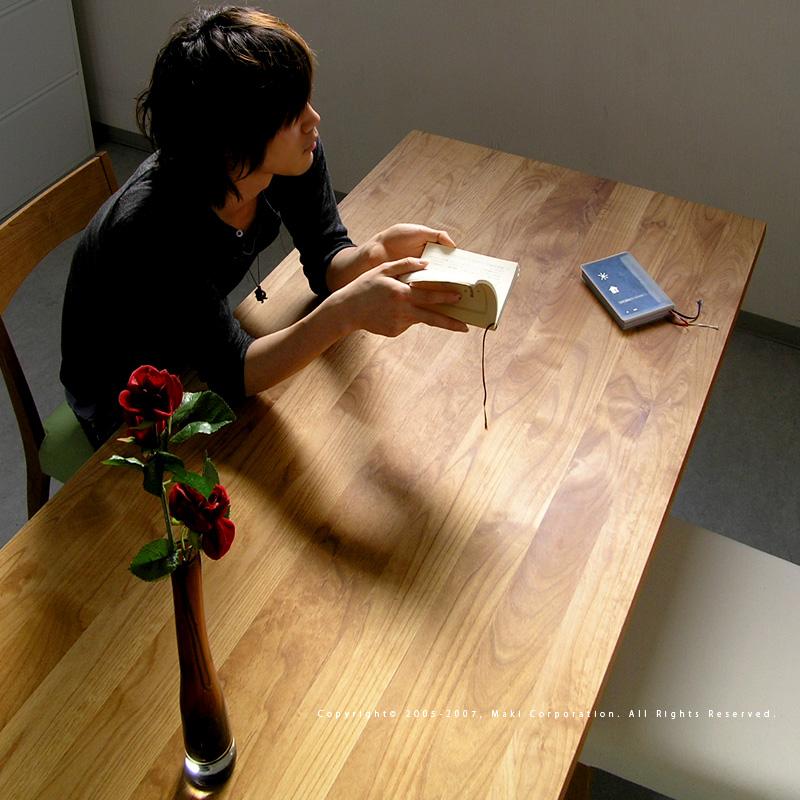 無垢 テーブル Ikususu(イクスス) 【ダイニングテーブル