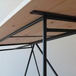 東濃檜のダイニングテーブル150