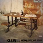 KLUB14 インダストリアル ダイニングテーブル