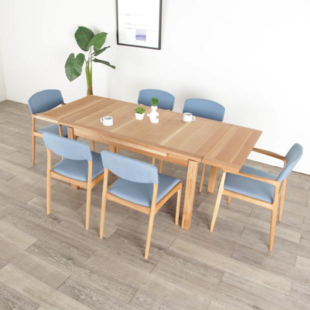伸長ダイニングテーブル WISDOMS EXTENTION TABLE