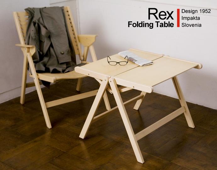 ロイヤルファニチャーコレクションREX Folding Lounge Chair/フォールディングラウンジチェア
